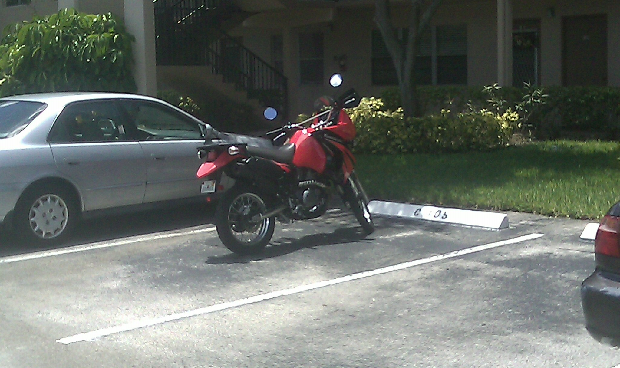 Assigned Parking .... Motorcycle ....